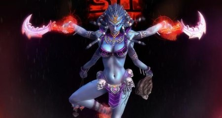 Kali depicted in Smite-game-USA