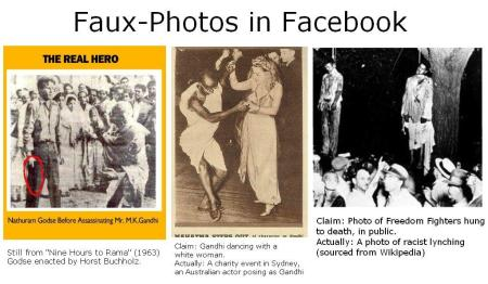 Falsifing Gandji images