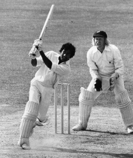 Kalicharan batting