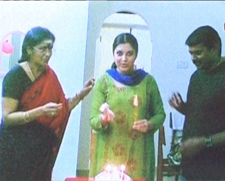 Seeman with Vjayalakshmi
