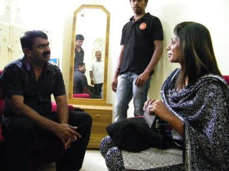Seeman with woman
