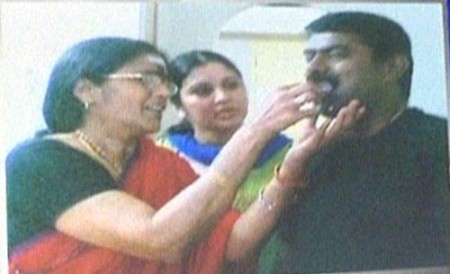 Vijayalakshmi mother seeman