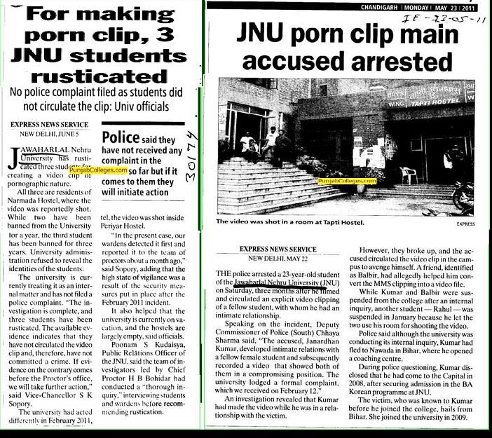 For-making-porn-clip,-3-JNU-Students-rusticated-New-Delhi.2011