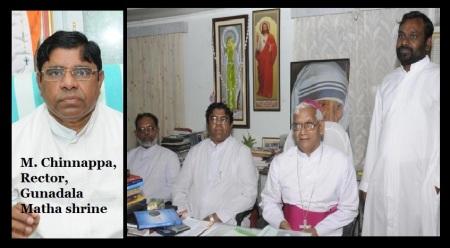M. Chinnappa, Rector, Gunadala Matha shrine
