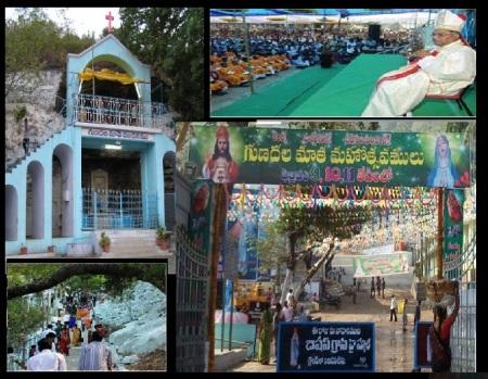 Mary Matha Church Gunadala, Vijayawada, where a priest is involved