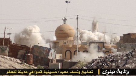 Sufi shrines-dargahs destroyed by the ISIS