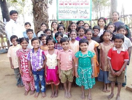 Bhadrachalam children New Hope Orphanage