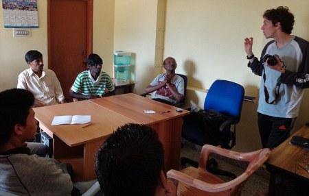 UK pedophile in Fernades bangalore orphanage