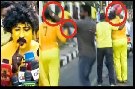 CSK fas beaten -Anti-national leaders- IPL match